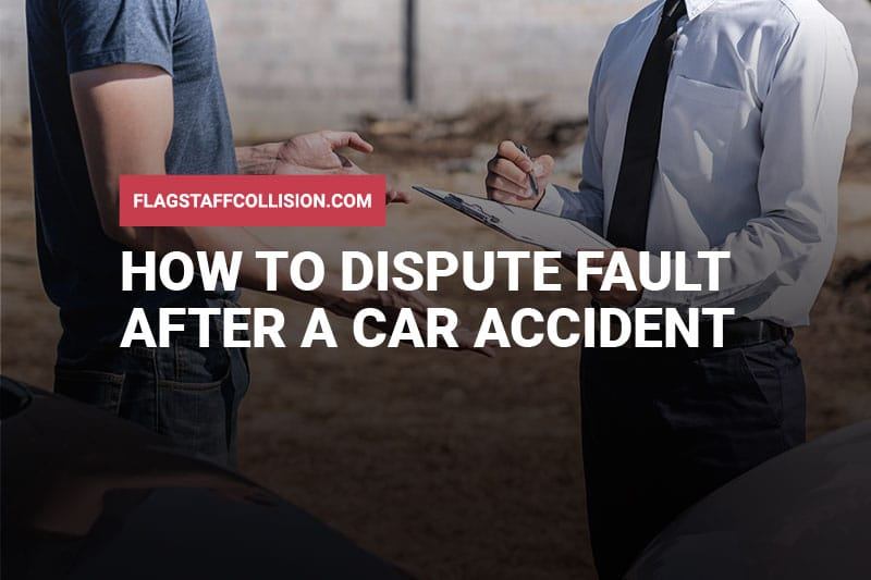 How to Dispute Fault After a Car Accident