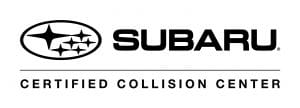 Certified Collision Center for Subaru