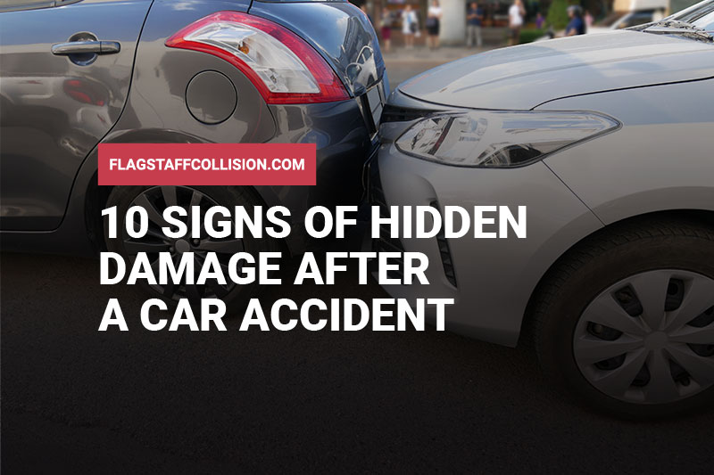 10 Signs of Hidden Damage After a Car Accident